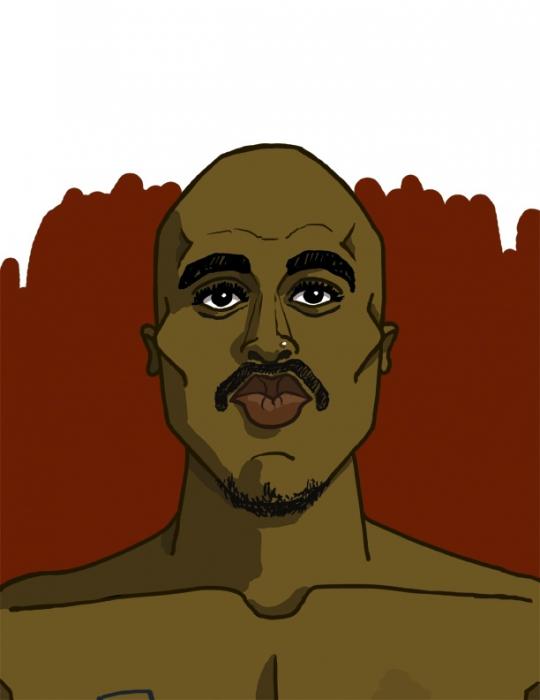 Tupac by gdog